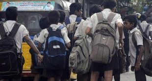 group to cut school bag